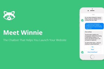 "Say Hi to ""Winnie"" — Venture Harbour's AI Chatbot Helps Businesses Launch Own Website"