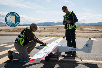 Nevada UAS Test Site tests Advanced Artificially Intelligent Unmanned Aerial System (UAS) with Microsoft Researchers