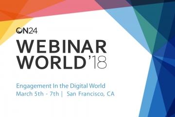 What To Expect At Webinar World 2018