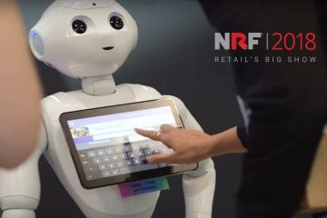 NRF18: Business Leaders Experience Customer Stories, Augmented Reality Tour