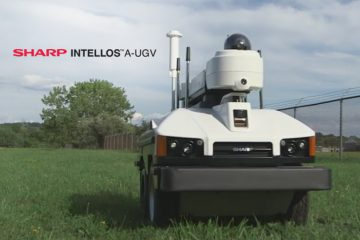 "Sharp INTELLOS A-UGV Named ""Official Security Robot of the Indianapolis Motor Speedway"""