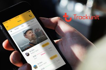 New Trackunit On App Connects Man and Machine for Safer People and More Reliable Equipment Operations