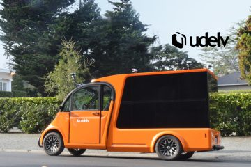udelv Makes Public Road Test Delivery From Its Autonomous Last-Mile Delivery Vehicle