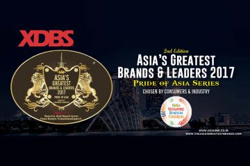 XDBS Founder Kartik Anand Wins Asia's Greatest Brands & Leaders 2017 Award