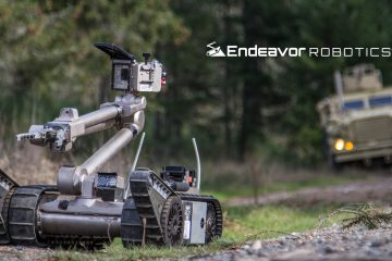 Massachusetts Governor Charlie Baker Tours Endeavor Robotics