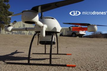Next Step in the Microdrones and Trimble Partnership: Seamless Integration with Trimble Business Center Software