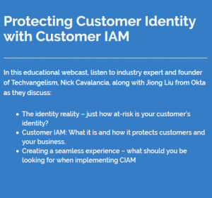Protecting Customer Identity with Customer IAM