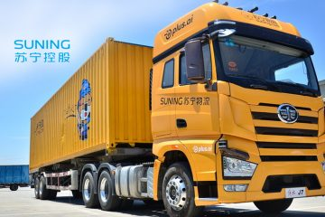 Suning Completes Testing Of Self-driving Heavy Duty Truck In Automation Push