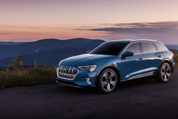 Leading the Charge to an Electric Future: Audi Unveils E-Tron SUV