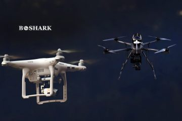 BSHARK Launch Hydrogen Drone, Narwhal 2