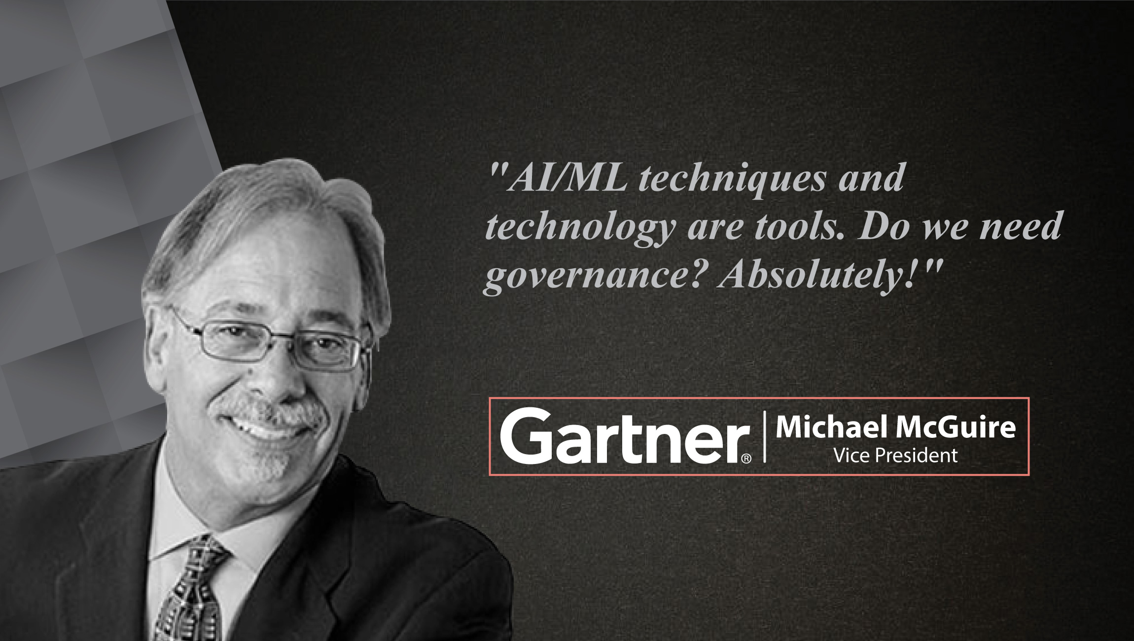 Interview with Michael McGuire, VP Research at Gartner_Cue Card
