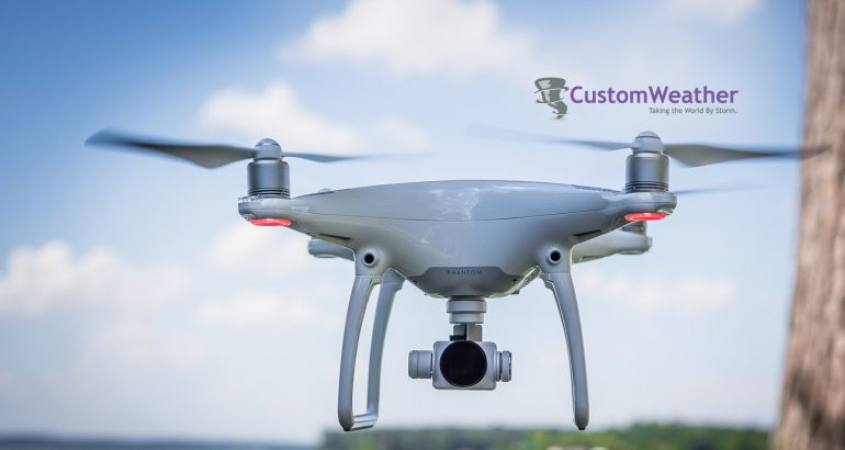 CustomWeather Announces Partnership With TruWeather Solutions to Offer High-Resolution Forecasts for UAS/Drone Operators; Testing Commences With NUAIR Alliance