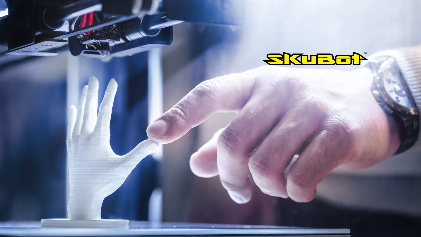 skubot powered by hp to introduce 3d scanning to identify