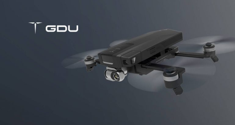 GDU Launches SAGA: The Infrared, Open Platform Industrial Drone at CES 2019