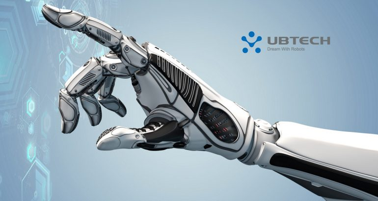 UBTech's All-terrain Patrol Robot ATRIS selected by Beijing's Shougang Park