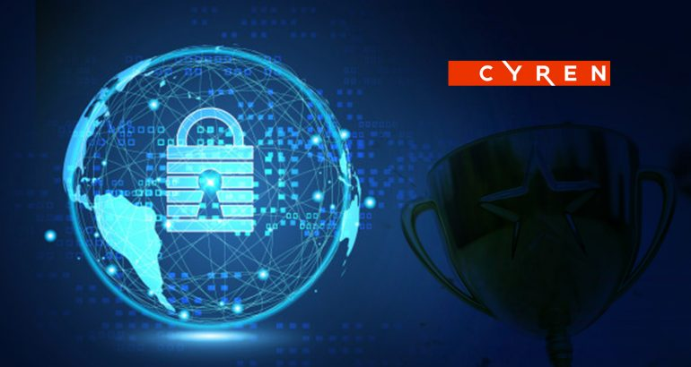 Cyren Email Security Wins Top Honors in Cybersecurity Excellence Awards