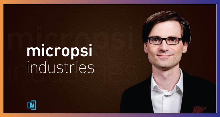 AiThority Interview Series with Ronnie Vuine_ CEO _ CO-Founder_ Micropsi