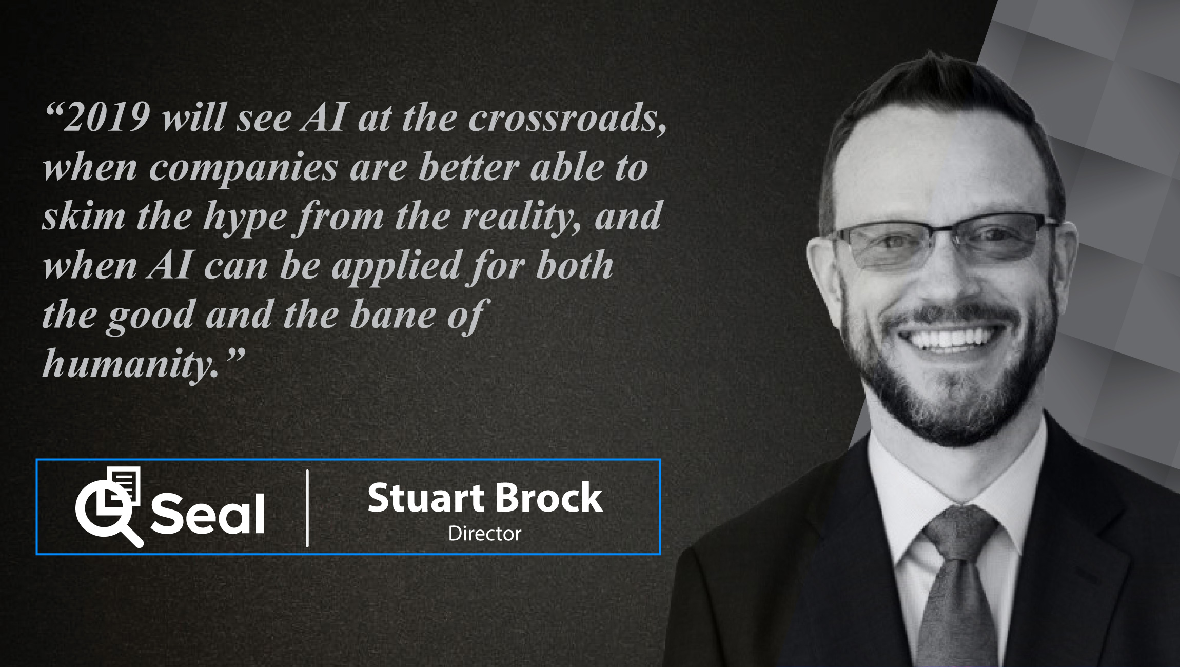 Stuart Brock, Director at Seal Software