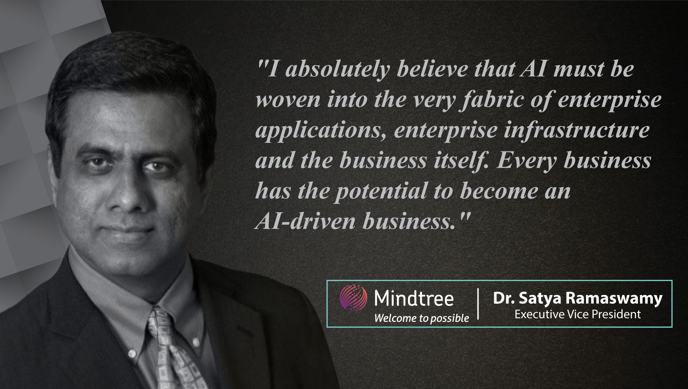 AiThority Interview with Dr  Satya Ramaswamy, Executive vice