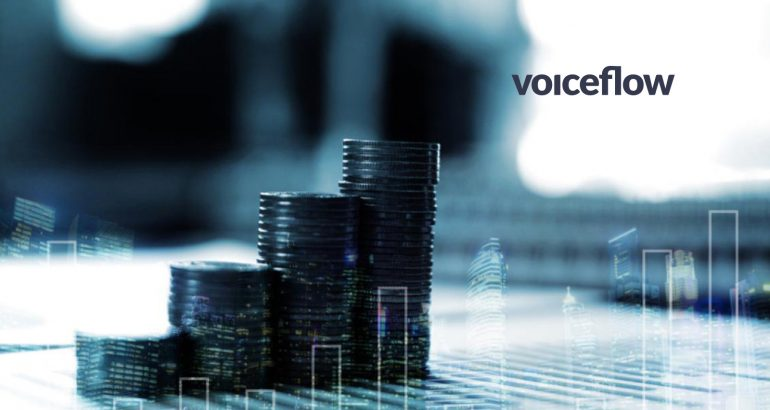 Voiceflow Closes $3.5 Million Seed Funding Round Led by True Ventures