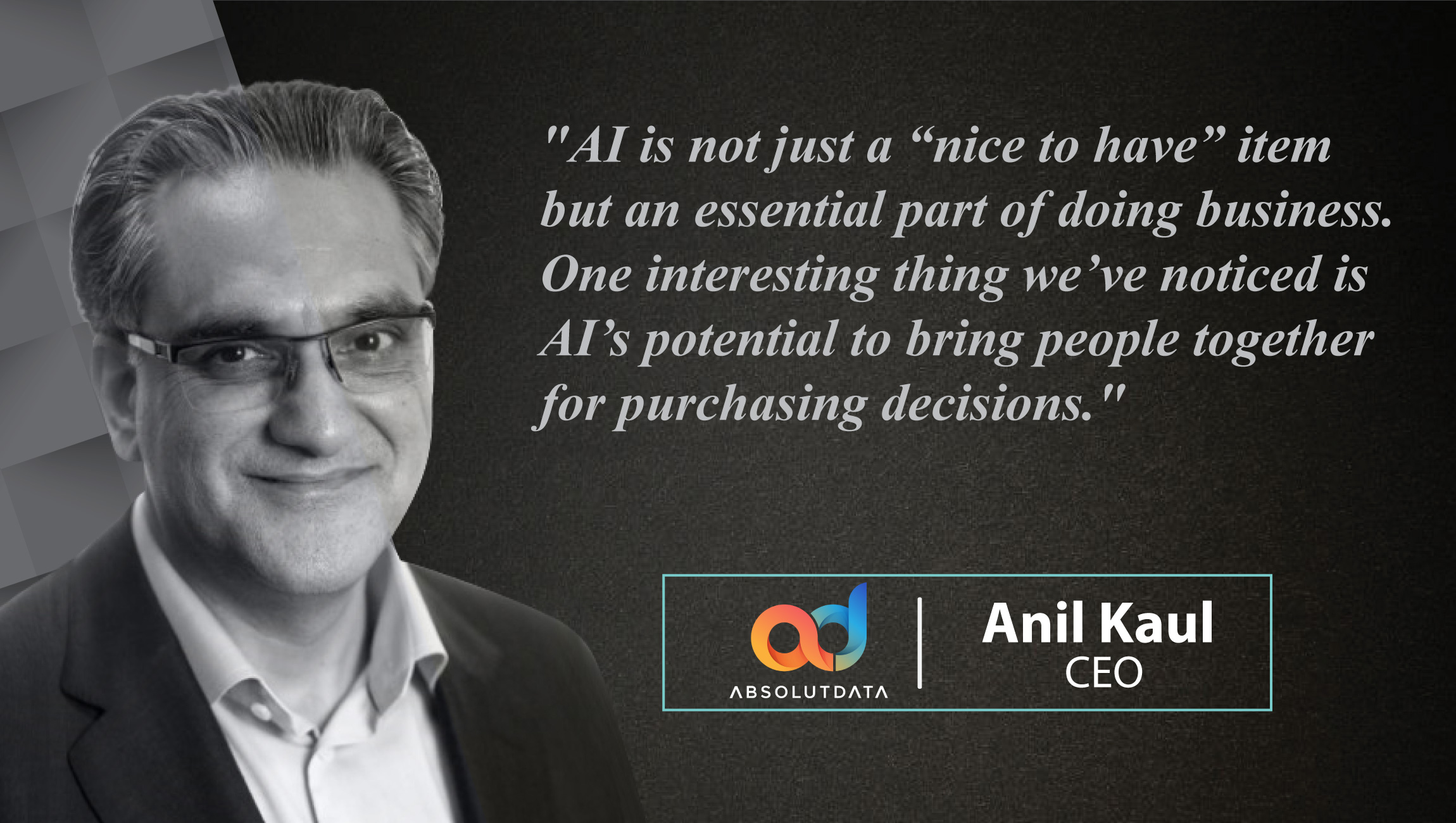 AiThority Interview Series with Anil Kaul , CEO at Absolutdata 1