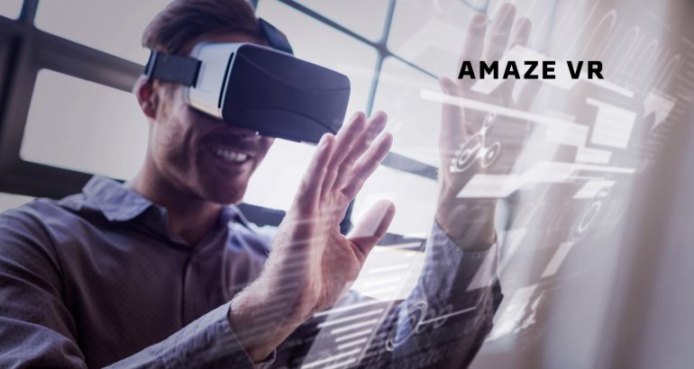 AmazeVR Announces New Partnership with LG and Secures Funding from Strategic Investors to Drive Future of VR