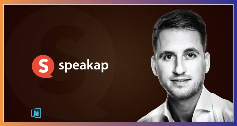 AiThority Interview Series with Patrick Van Der Mijl, Co-Founder, Speakap
