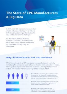 CPG Manufacturers Value Big Data, but Struggle to Leverage It