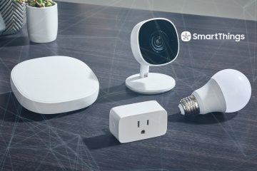 A Clear View of Home from Anywhere with SmartThings Cam