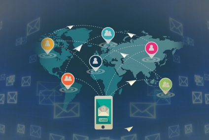Infographic on Email Marketing from SpotOn for National Email Week 6/9-15