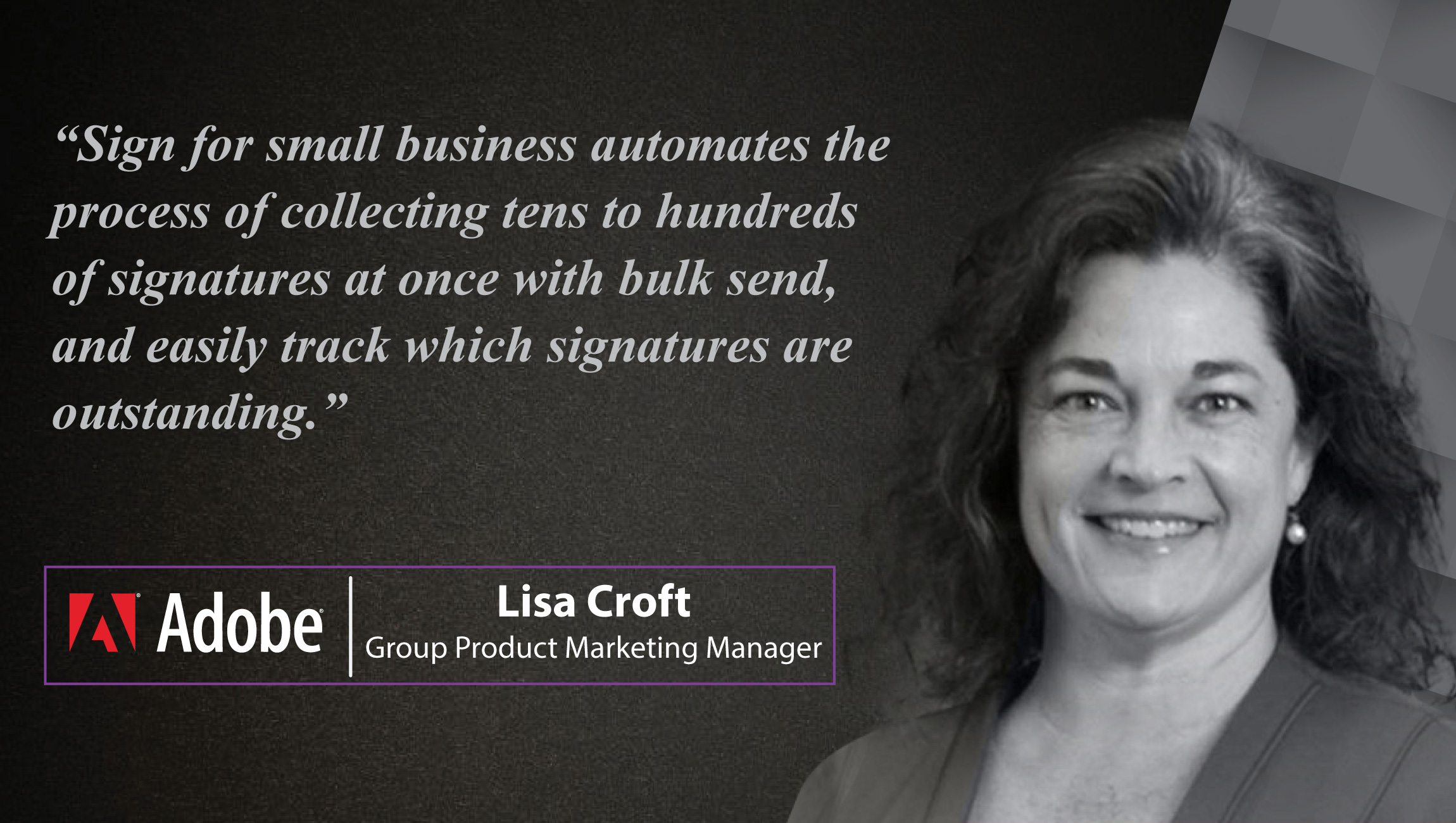 AiThority Interview with Lisa Croft, Group Product Marketing Manager at Adobe/ E-Signature