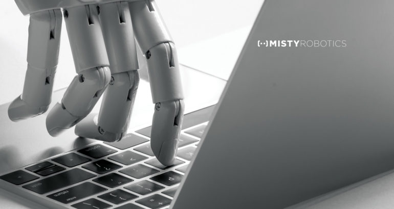 The Misty II Robot Begins Shipping to Crowdfunding Backers
