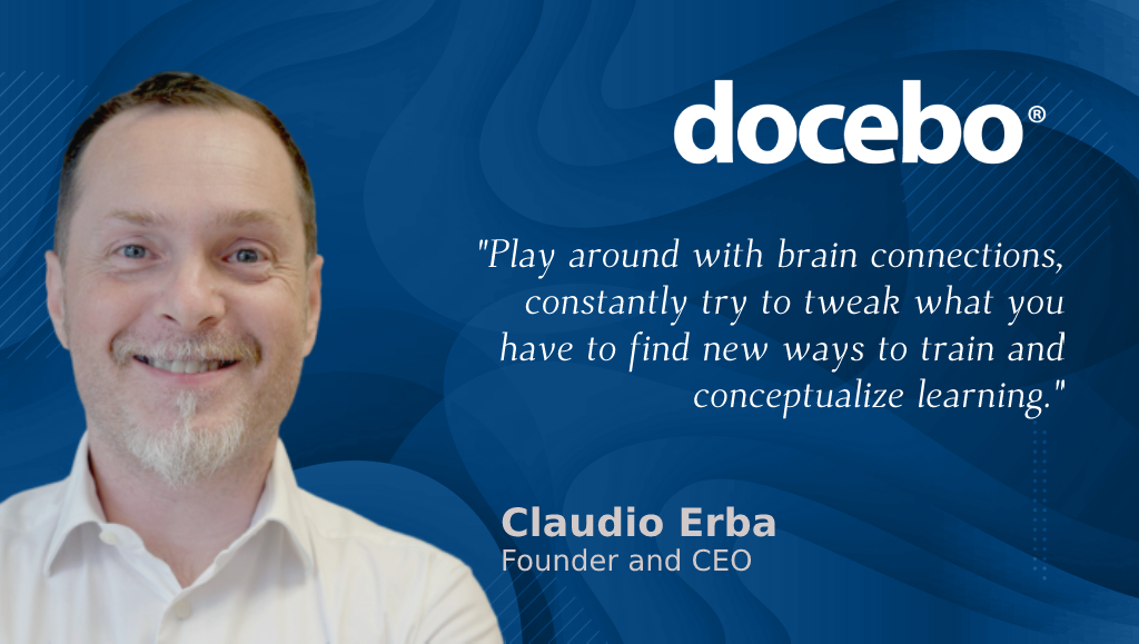 AiThority Interview With Claudio Erba, Founder and CEO at Docebo