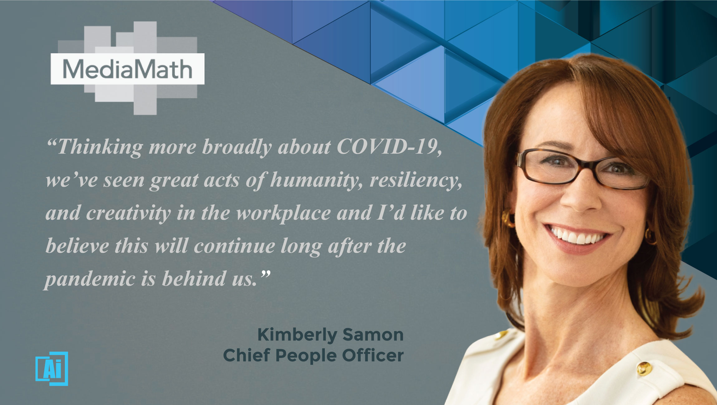 AiThority Interview With Kimberly Samon, Chief People Officer at MediaMath