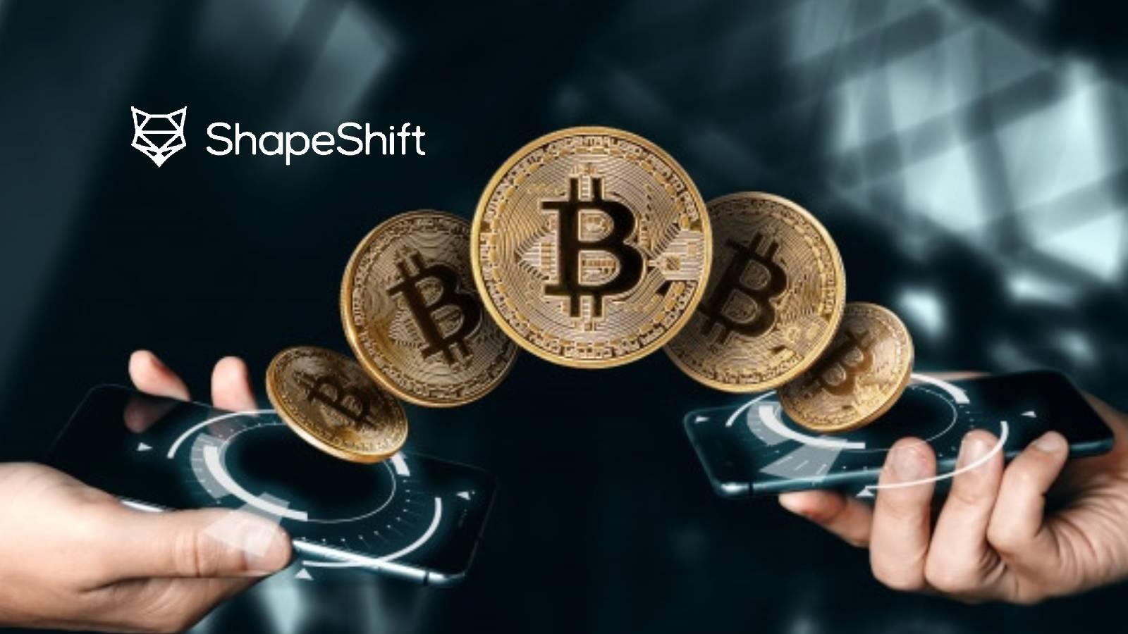 bitcoin shapeshift)
