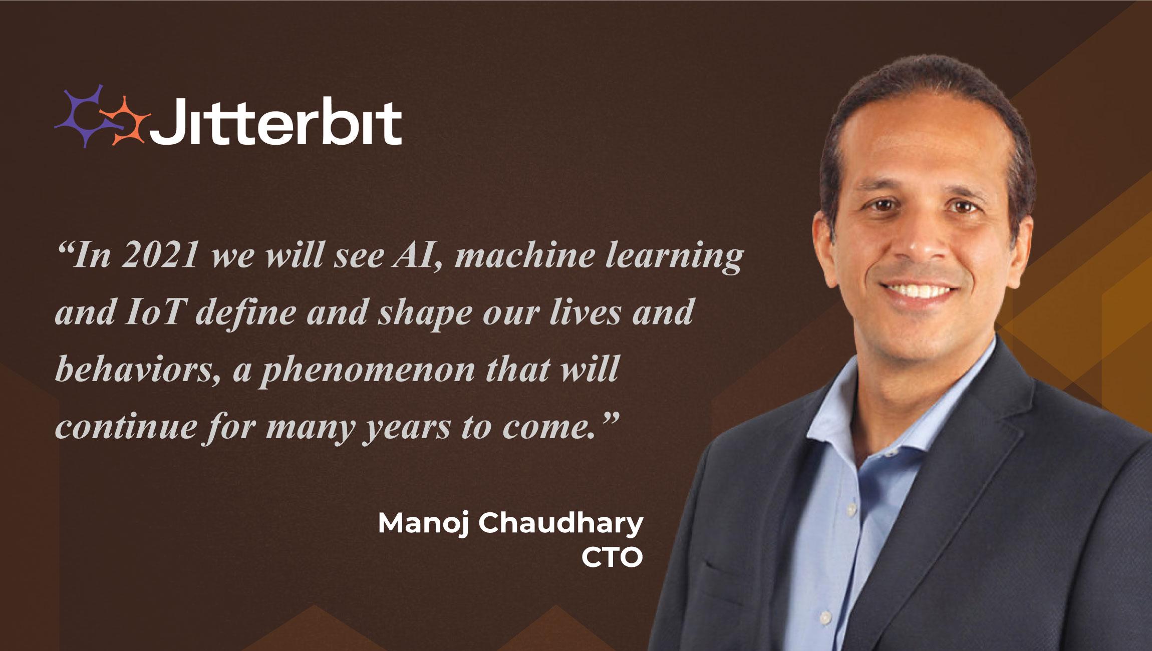 Crystal Gaze 2021: AiThority Interview with Manoj Choudhary, CTO at Jitterbit