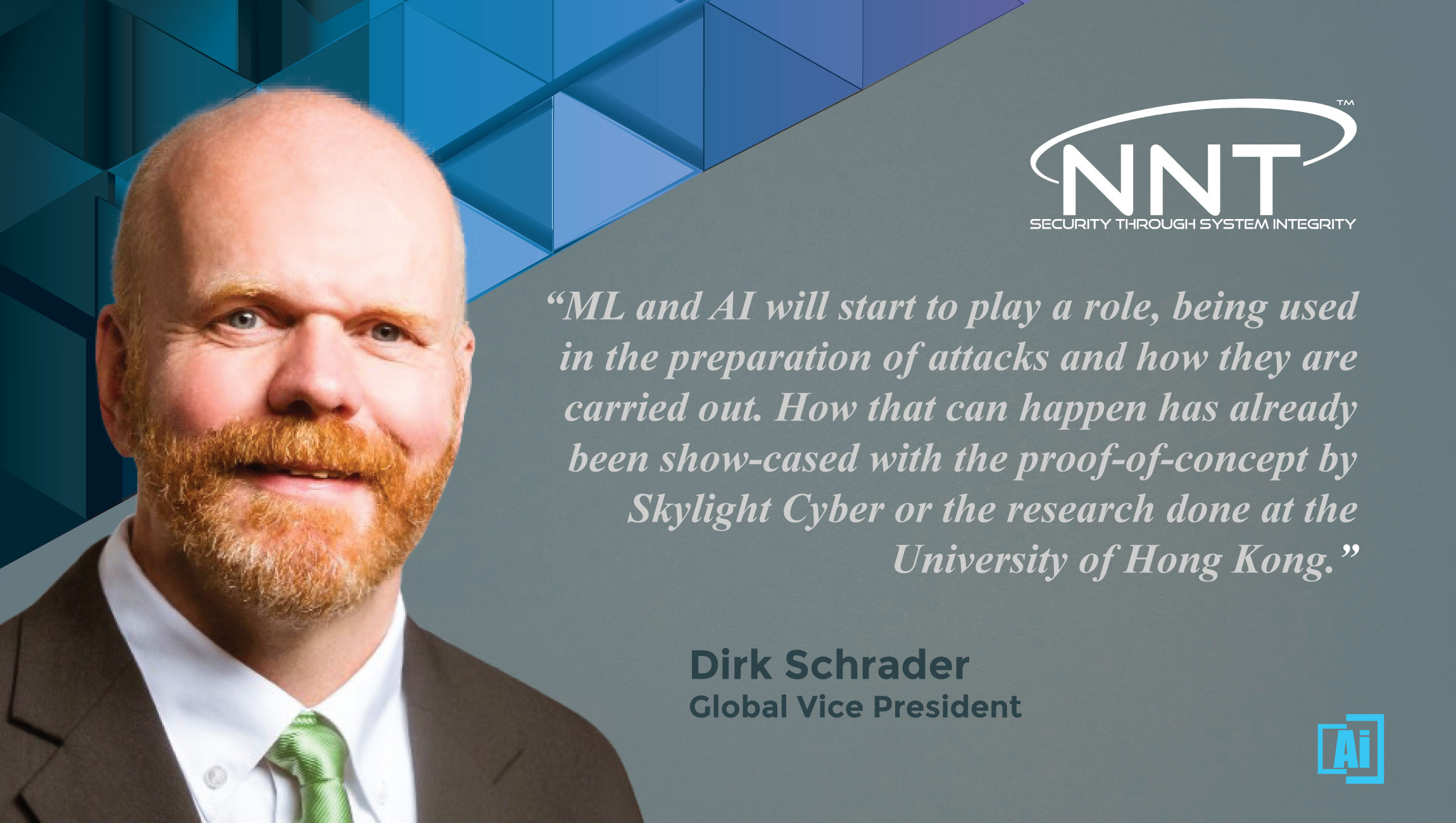 AiThority Interview with Dirk Schrader, Global Vice President at New Net Technologies