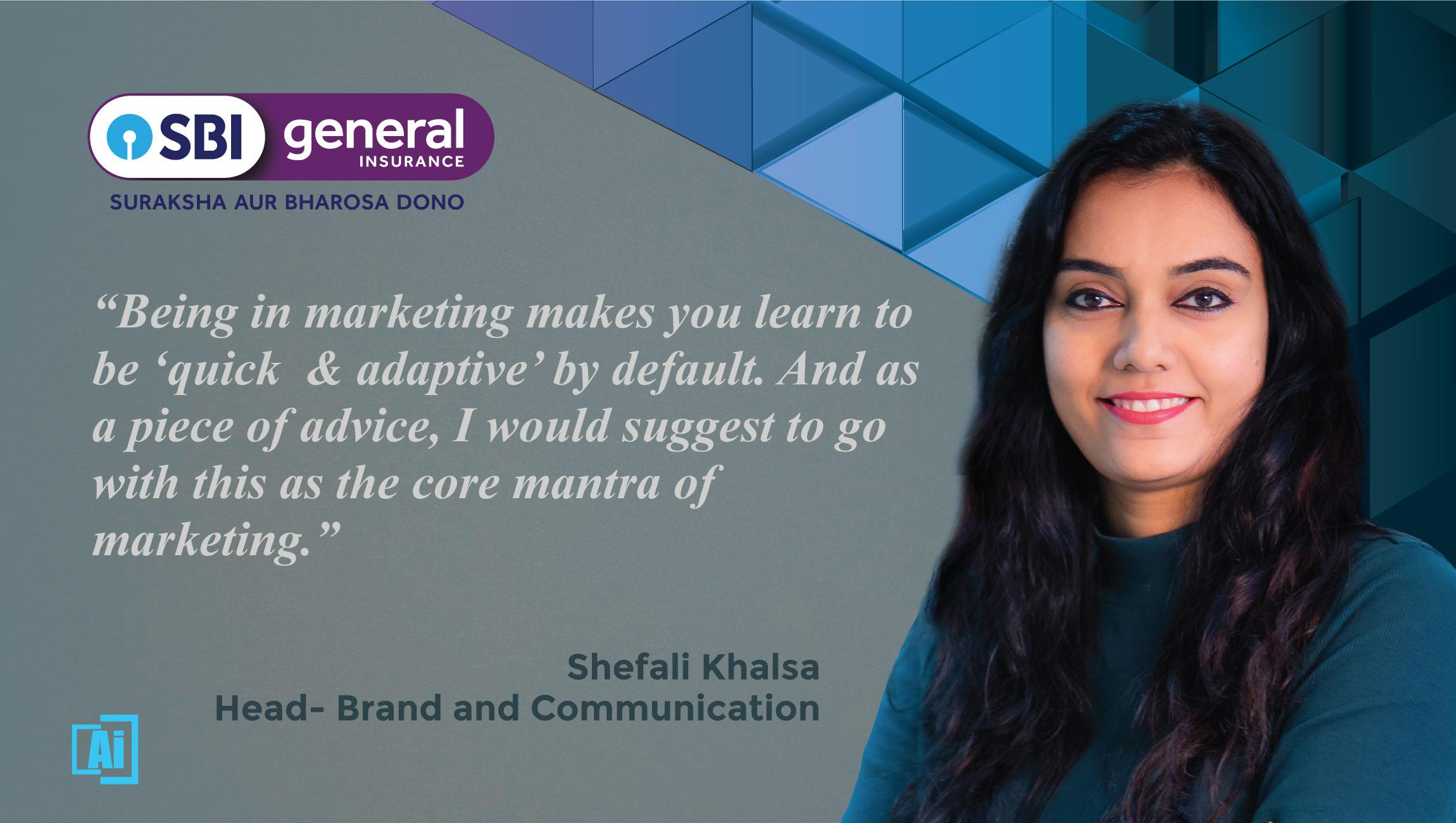 AiThority Interview with Shefali Khalsa, Head- Brand & Communication at SBI General Insurance