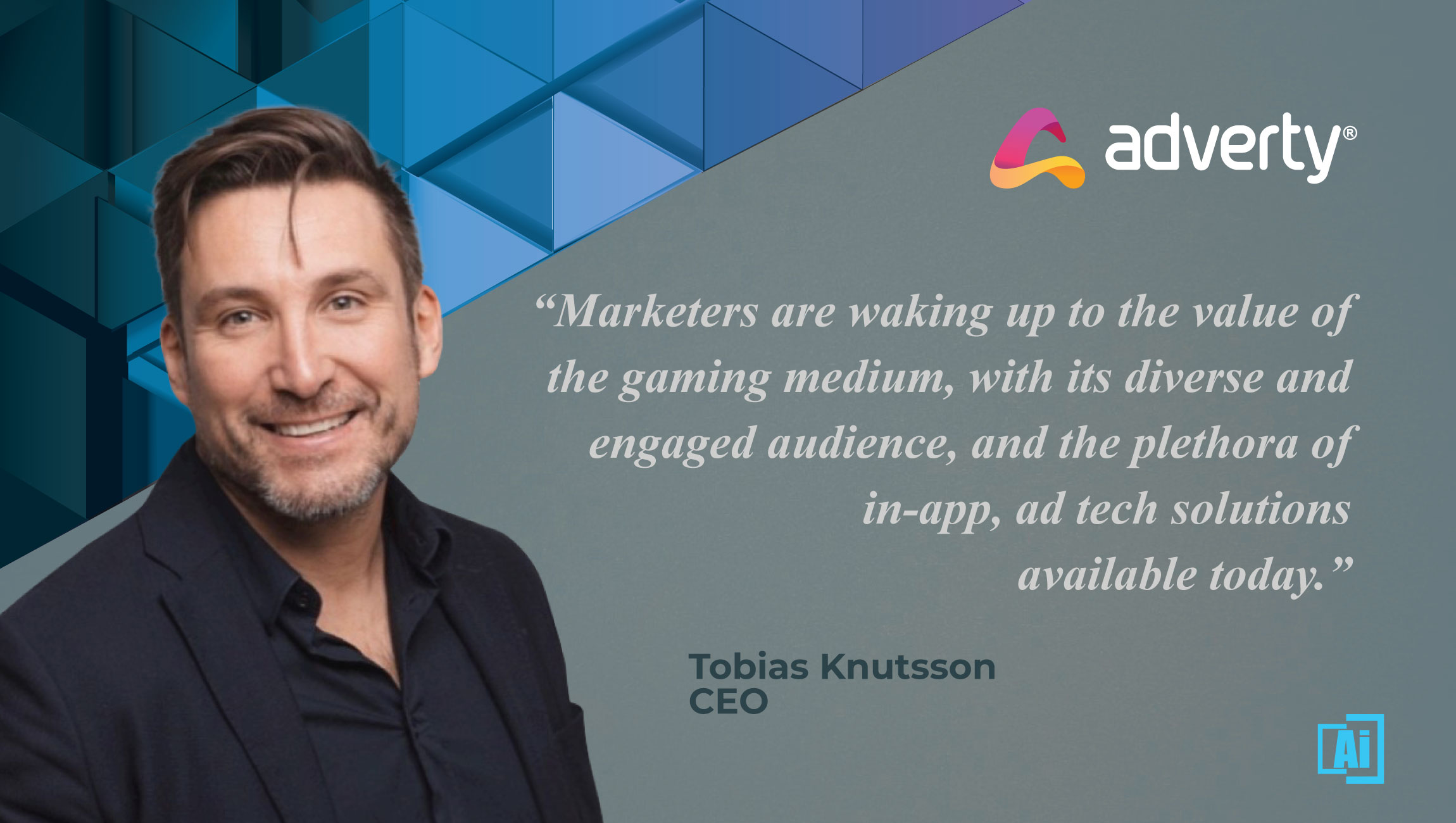 AiThority Interview with Tobias Knutsson, CEO at Adverty